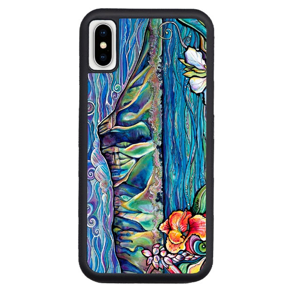"""Diamond Head Wonder""  iPhone cases available in NEW Xs Max, Xs/X, 7/8 Plus, 7/8"