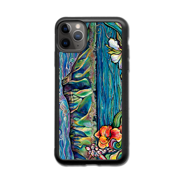 """Diamond Head Wonder""  iPhone cases available in NEW 11, 11 Pro, 11 Pro Max,  Xr, Xs Max, Xs/X, 7/8 Plus, 7/8"