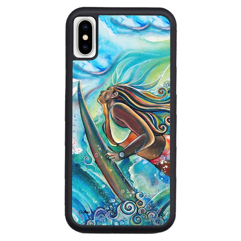 """Duck Dive""  iPhone cases available in NEW Xr, Xs Max, Xs/X, 7/8 Plus, 7/8"
