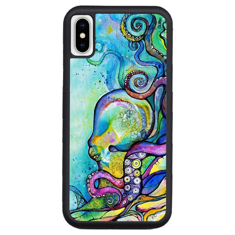 """He'e Wander""  phone cases available in NEW iPhone X! iPhone 8, 8+, 7, 7+, 6, 6s, 6+,"
