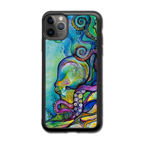 """He'e Wander""  iPhone cases available in 12/12Pro, 12Pro Max, 11, 11 Pro, 11 Pro Max, Xs Max, Xs/X"