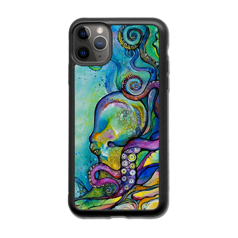 """He'e Wander""  iPhone cases available in NEW 11, 11 Pro, 11 Pro Max,  Xr, ,Xs Max, Xs/X, 7/8 Plus, 7/8"