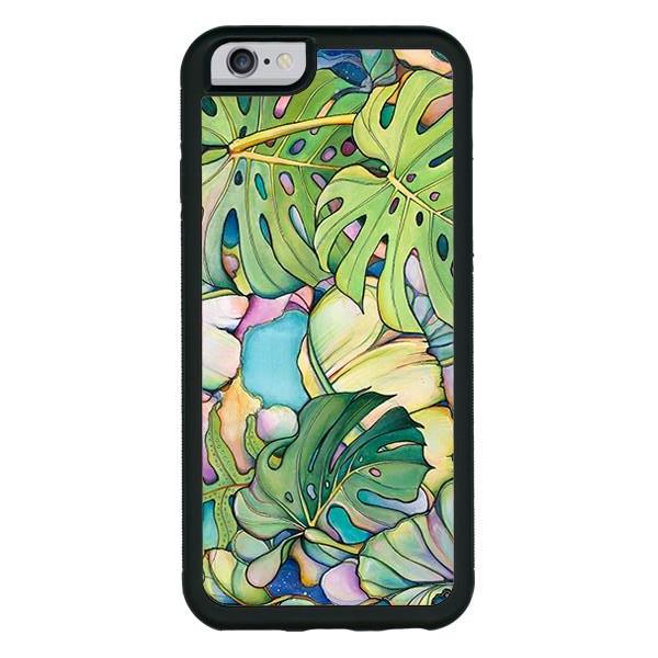 """Island Oasis""  phone cases available in iPhone 6, 6s, 6plus, 7, 7 Plus"