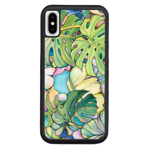 """Island Oasis""   iPhone cases available in NEW Xr, Xs Max, Xs/X, 7/8 Plus, 7/8"