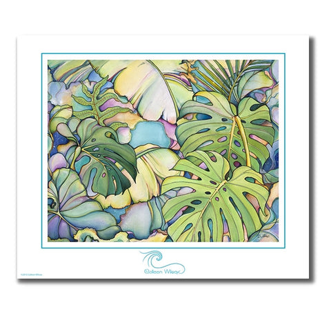 Island Oasis - Unmatted Print
