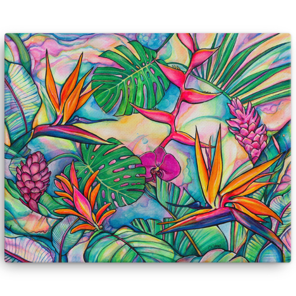 Jungle Pop - Giclee (Canvas Print)