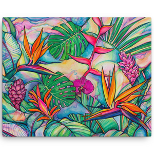 Jungle Pop Giclee on Canvas (edition of 50)