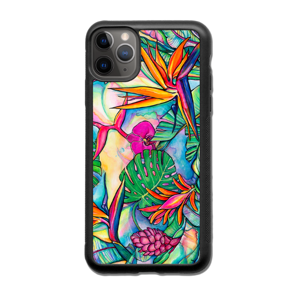 """Jungle Pop""  iPhone cases available in NEW 11, 11Pro, 11Pro Max, Xr, Xs Max, Xs/X, 7/8 Plus, 7/8"