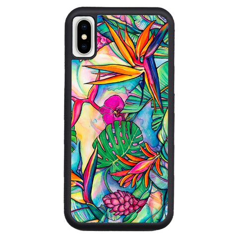 """Jungle Pop""  iPhone cases available in NEW Xr, Xs Max, Xs/X, 7/8 Plus, 7/8"