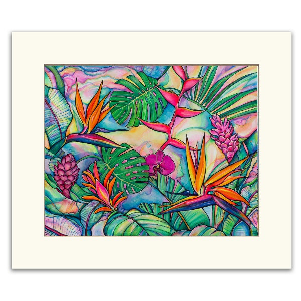 Jungle Pop- Matted  Print