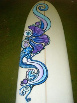 Koi Fish Long Board