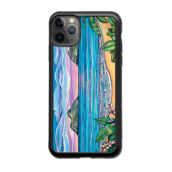 """Lanikai Sunrise"" iPhone cases available in NEW 11, 11 Pro, 11 Pro Max,  Xr, Xs Max, Xs/X, 7/8 Plus, 7/8"