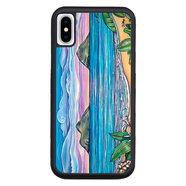 """Lanikai Sunrise"" iPhone cases available in NEW Xs Max, Xs/X, 7/8 Plus, 7/8"