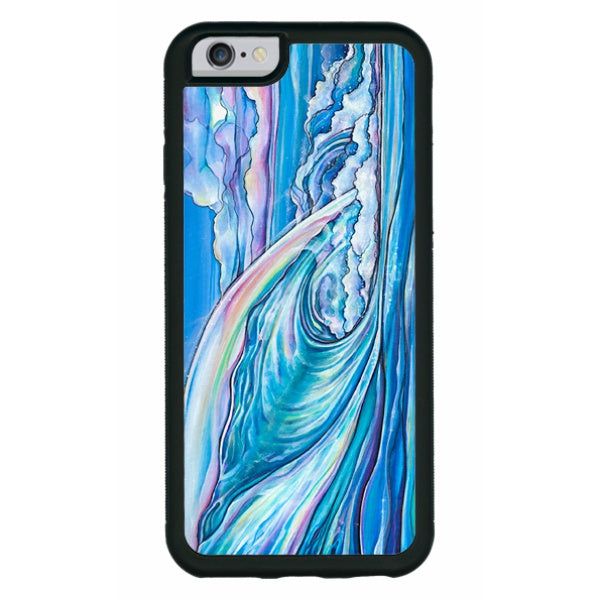 """Nalu Blue""  iPhone cases available in NEW 11, 11 Pro, 11 Pro Max, Xr, Xs Max, Xs/X, 7/8 Plus, 7/8"