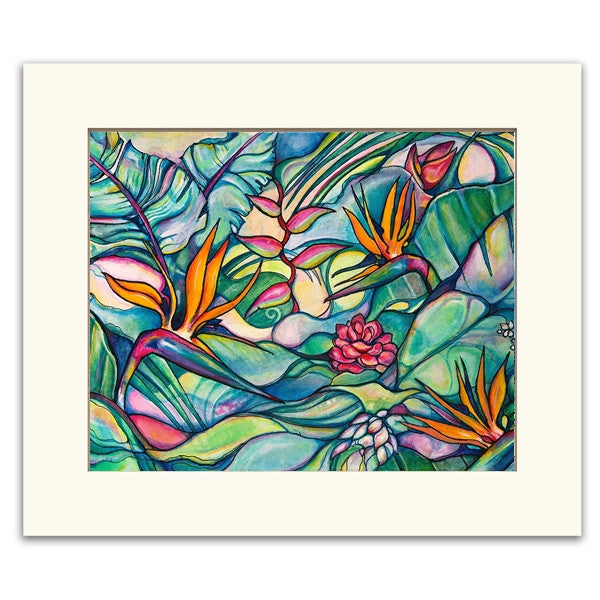 Jungle Wild - Matted  Print