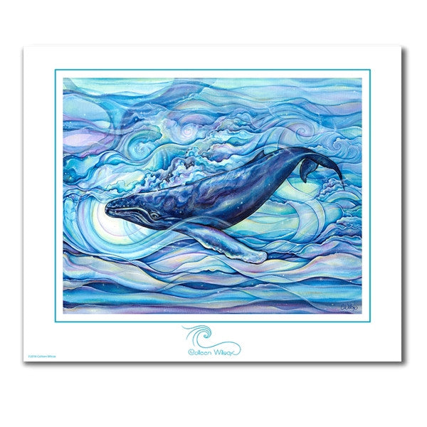 Mystic Blue - Unmatted Print