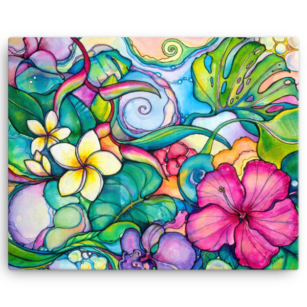 Paradise Giclee on Canvas (edition of 50)