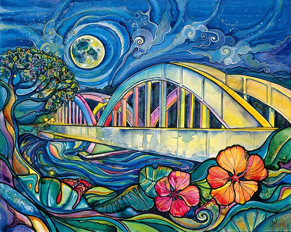 Rainbow Bridge Giclee on Canvas (edition of 50)