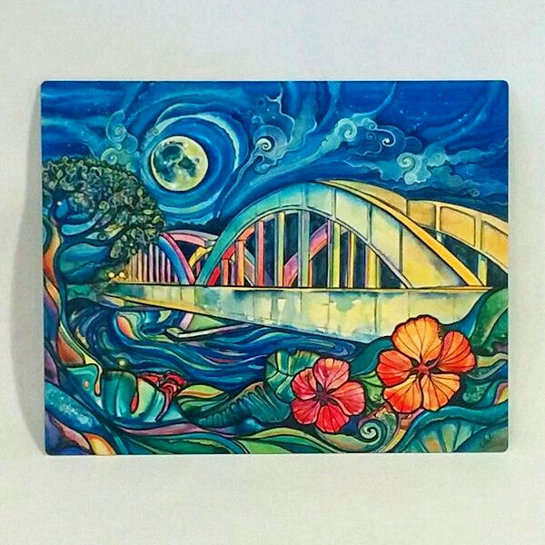 Rainbow Bridge-Aluminum Print