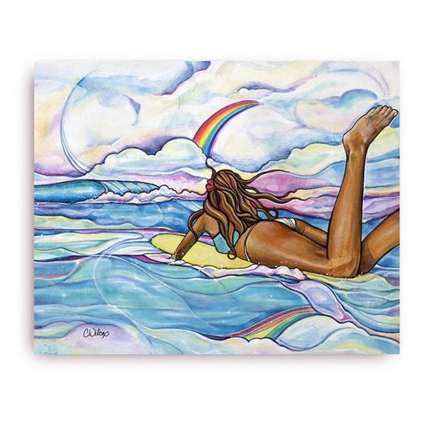 Rainbow's Edge -Giclee(Canvas Print)