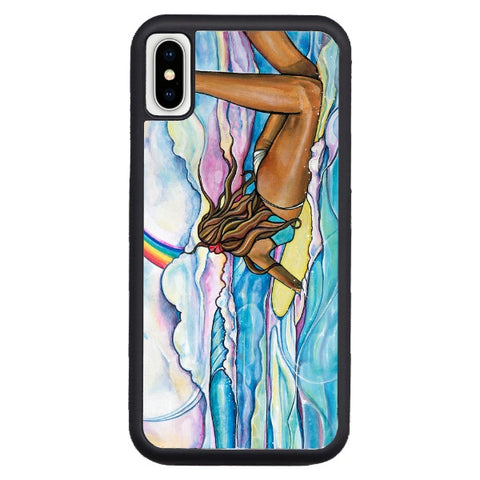 """Rainbow's Edge"" iPhone cases available in NEW Xr, Xs Max, Xs/X, 7/8 Plus, 7/8"