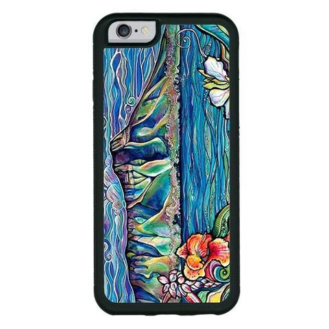 """Diamond Head Wonder"" phone cases available in iPhone 6, 6s, 6plus, 7, 7 Plus"