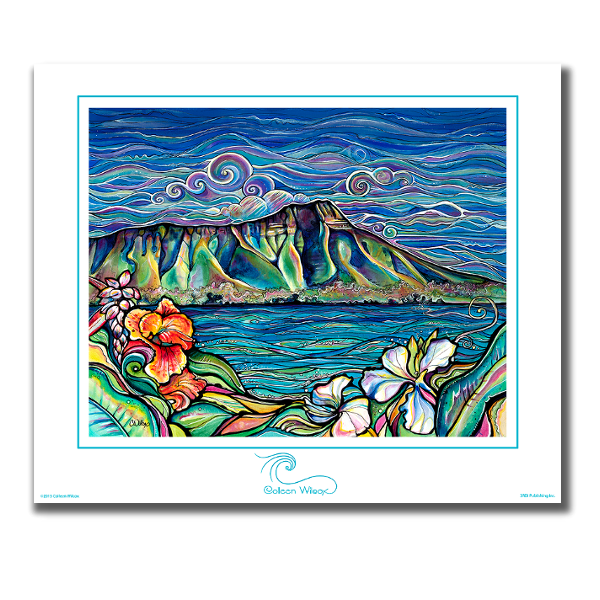 Diamond Head Wonder - Unmatted Print