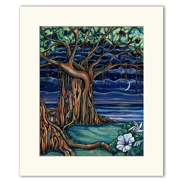 Dreaming Tree - Matted  Print