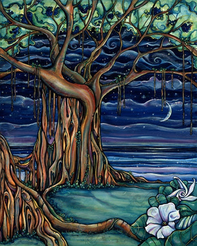 Dreaming Tree-Giclee(Canvas Print)