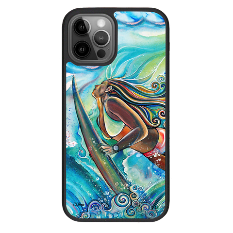 """Duck Dive""  iPhone cases available in 12/12Pro, 12Pro Max, 11, 11 Pro, 11 Pro Max, Xs Max, Xs/X"
