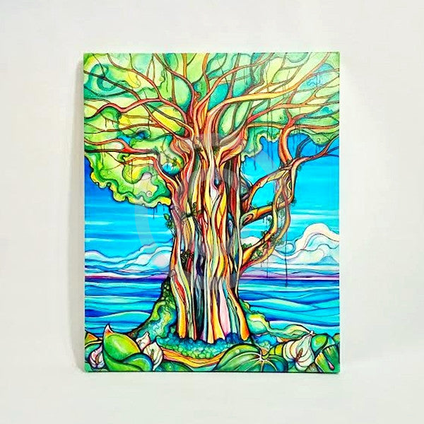 Enchanted Banyan-Giclee(Canvas Print)