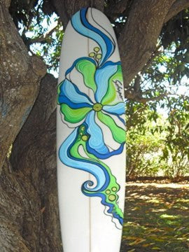 Flower Long Board