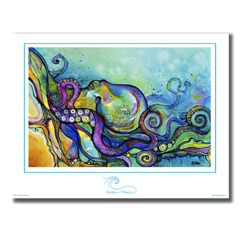 He'e Wander - Unmatted Print