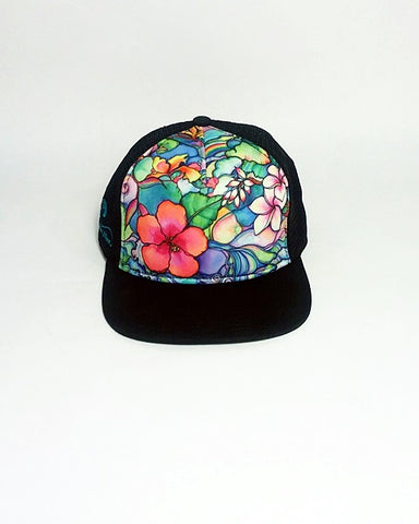 Island Style Aloha Trucker Hat- Free Shipping within the US