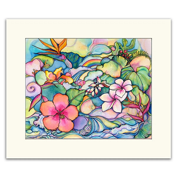 Island Style - Matted  Print