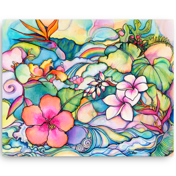 Island Style Giclee on Canvas (edition of 50)