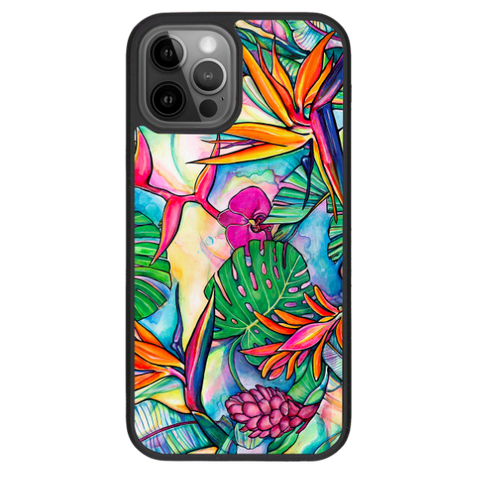 """Jungle Pop""  iPhone cases available in 12/12Pro, 12Pro Max,11, 11Pro, 11Pro Max,Xs Max, Xs/X"