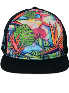 Jungle Pop Aloha Trucker Hat