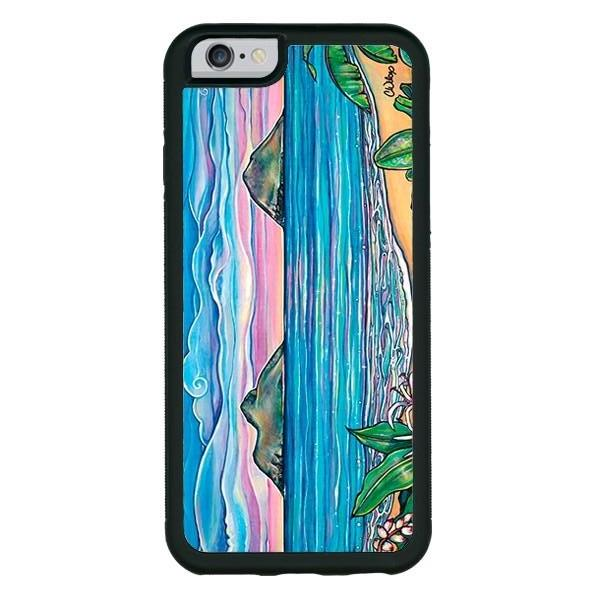 """Lanikai Sunrise"" phone cases available in iPhone 6, 6s, 6plus, 7, 7 Plus"