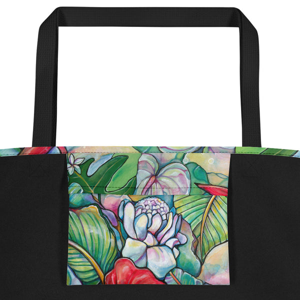 NEW & IMPROVED- Botanical Beach Tote