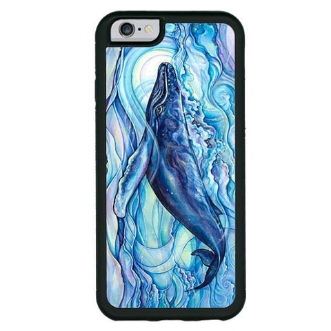 """Mystic Blue""  phone cases available in iPhone 6, 6s, 6plus, 7, 7 Plus"