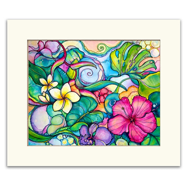 Paradise - Matted  Print