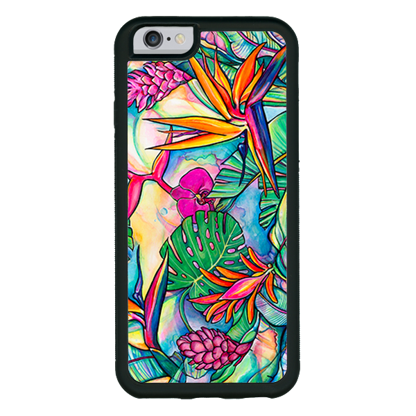 Jungle Pop  phone cases available in  iPhone X! iPhone 8, 8+, 7, 7+, 6, 6s, 6+,