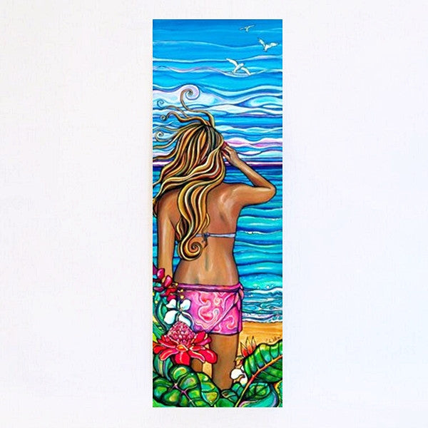 Tropical Breeze-Aluminum Print
