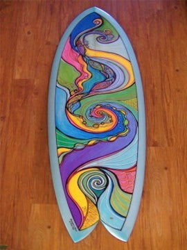 Fish Swirls Board