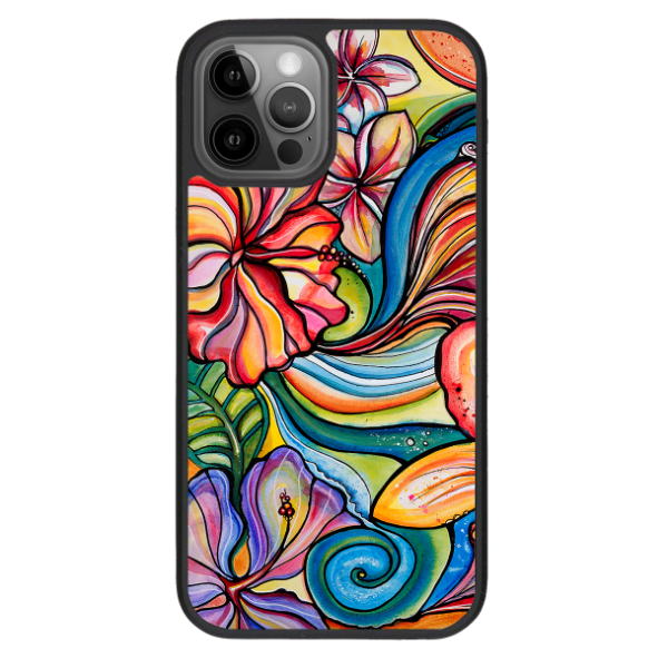 """Tropic"" iPhone cases available in 12/12Pro, 12Pro Max, 11, 11Pro, 11 Pro Max,  Xs Max, Xs/X"
