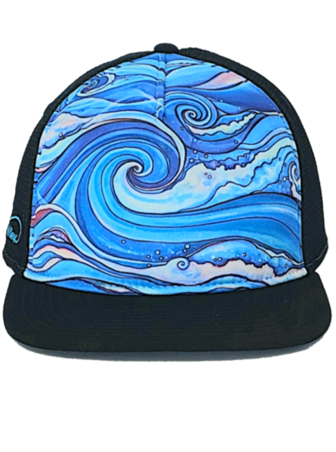 Wave Aloha Trucker Hat