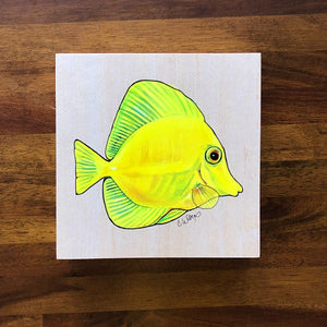 Yellow Tang (Lau'ipala) - (Original)
