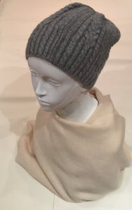 Grey Cocu Hat