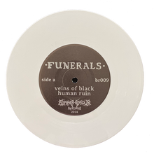"Load image into Gallery viewer, Funerals ""Human Ruin"" 7"" Vinyl"